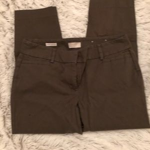 Loft ankle pants